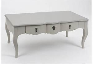 Table Basse Boheme : table basse romantique bois c rus taupe gris 1 tiroir grand si cl ~ Teatrodelosmanantiales.com Idées de Décoration