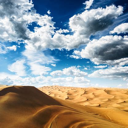 Filtred list of synonyms for desert is here. Sahara Desert Landscape With Cloudy Sky Stock Photo - Download Image Now - iStock