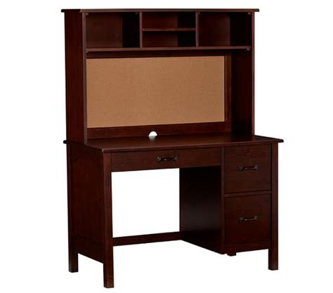 kids desk with hutch kendall desk hutch pottery barn kids