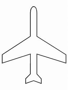 vintage airplane coloring page clipart panda free With airplane cut out template