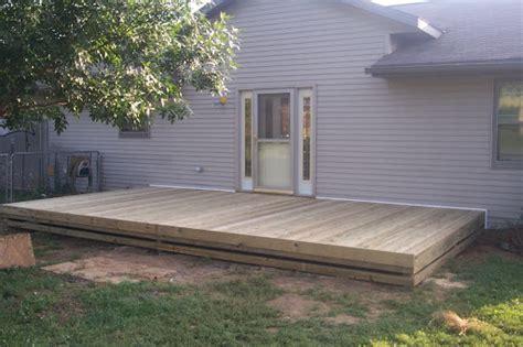 Simple Deck Ideas For Backyard
