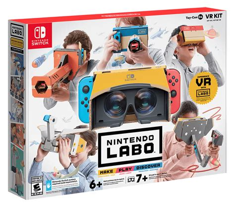nintendo announces switch vr labo kit coming in april