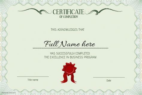 Phd Diploma Template by Graduation Certificate Diploma Graduate Template Landcsape