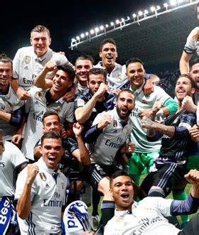 Real Madrid Club De Futbol Escalacao 2019
