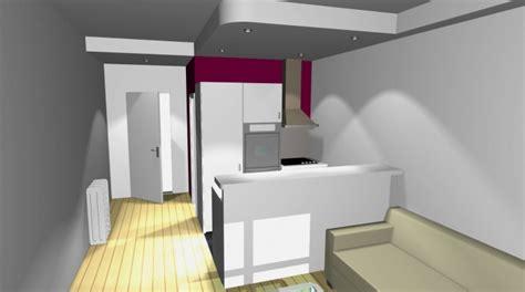 cuisine couleur framboise architectes com studio gain de place
