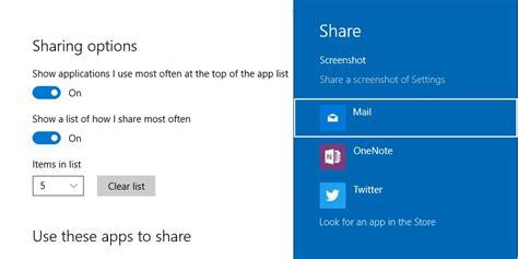 enable share settings option   windows  settings app  tech easier