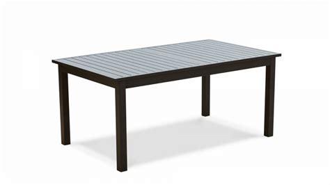 table jardin extensible rallonge 174 238 cm aluminium