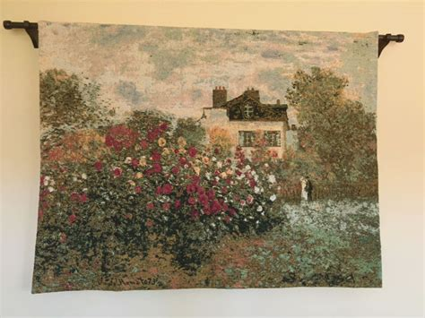 claude monets house tapestry argenteuil giverny