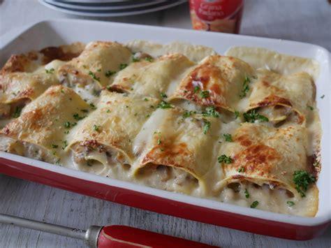 lasagnes roul 233 es au jambon et chignons de cuisine cr 233 ative recettes popotte de manue