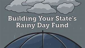 When to Use State Rainy Day Funds