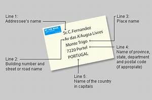properly address an envelope