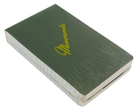 Green Military Log Book, Record Book, Memorandum, 8″ X 10