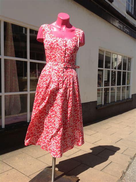 efficient home designs liberty tana lawn cotton print vintage vogue dress