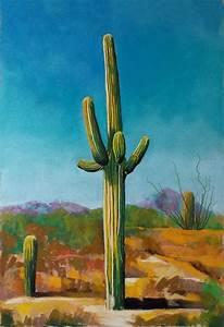 Saguaro cactus painting | ria hills