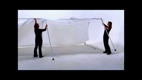 shelter logic canopy set  youtube