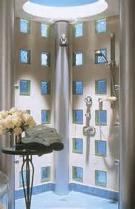 glasbausteine badezimmer duschkabinen glasbausteine