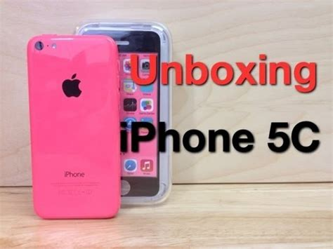 pink iphone 5c unboxing iphone 5c pink 1925