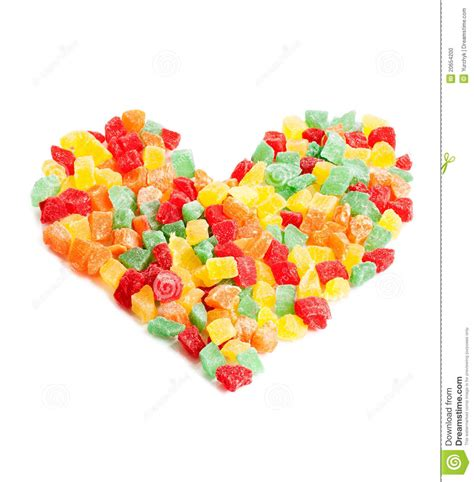 Sweetheart Stock Photo Image Of Orange Candy Color