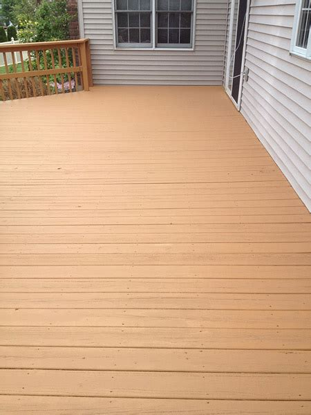 Restaining A Deck With Solid Stain by Deck Staining Reading Pa Painting