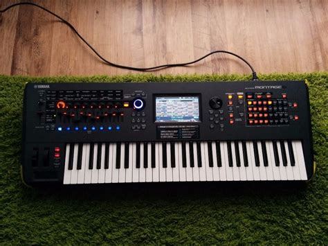 yamaha montage 6 yamaha montage 6 boxed 3 months in condition