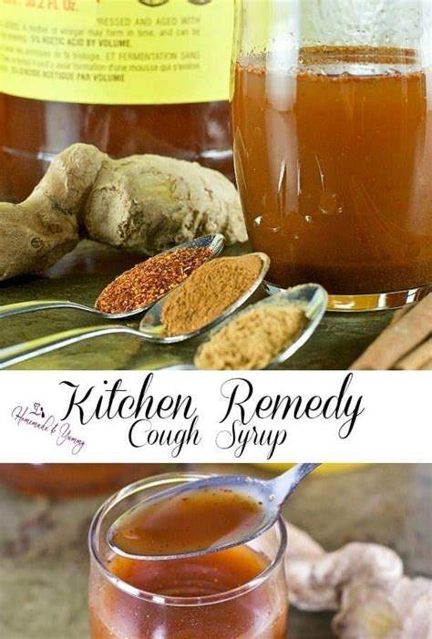 What To Make With Ingredients In Cupboard by Kitchen Remedy Cough Syrup Made From Your Kitchen Cupboard