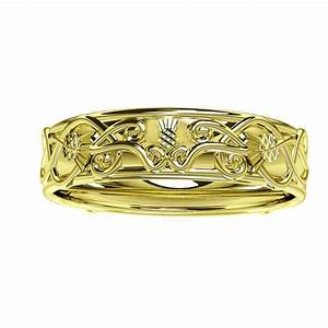 scottish thistle edinburgh celtic ring tappit hen With scottish wedding rings edinburgh
