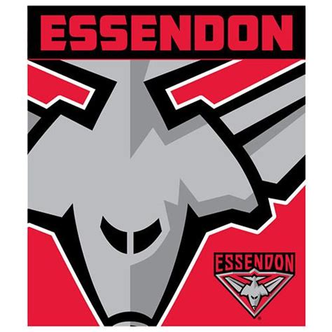 We are committed to a sense of community, conservation and organic gardening principles Essendon Bombers Polar Fleece Throw Rug Blanket
