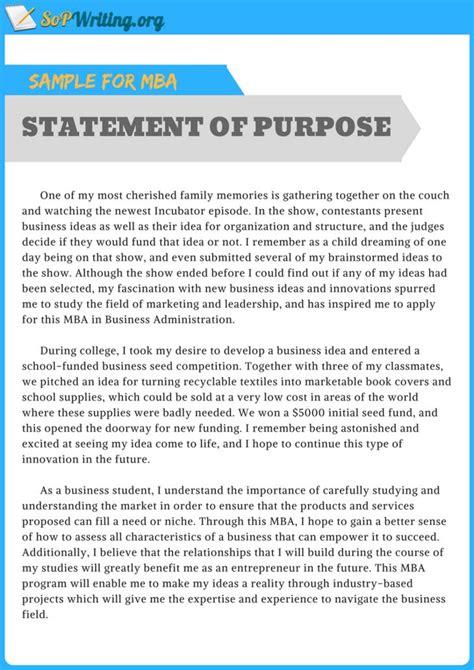 statement  purpose motivational letter letter