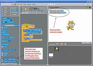 Science Buddies  Scratch User Guide  Connecting  U0026 Using A