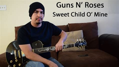 Guns N' Roses Sweet Child O' Mine Guitar Lesson