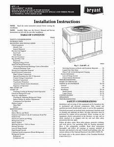 Bryant 591b Air Conditioner User Manual
