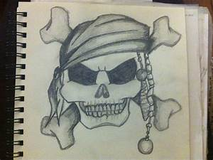 Pirate skull and crossbone tattoo design by Jaymi23 on ...