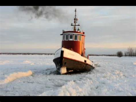 Tug Boat Horn Youtube by Tug Boat Breaking Ice In Belleville Ontario Tim Van Horn