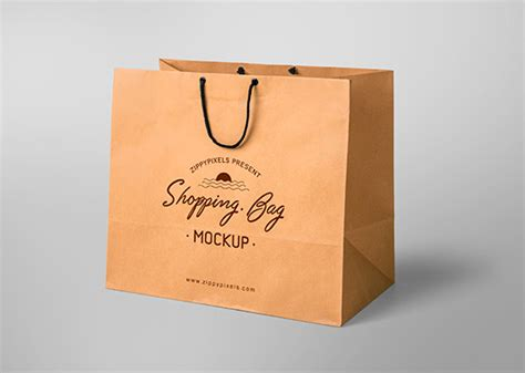 Moreover, each and every single layout, you find on this list, is easily editable via smart object layer. Free Shopping Bag Mockup | ZippyPixels