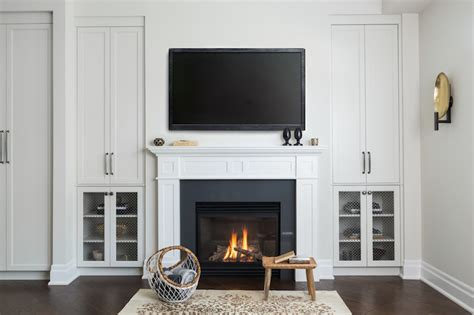 gas fireplace with built in cabinets fireplace built in cabinets design ideas