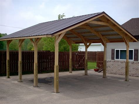 Carport : Metal Carport Frames Only Steel Kits Do Yourself Build It