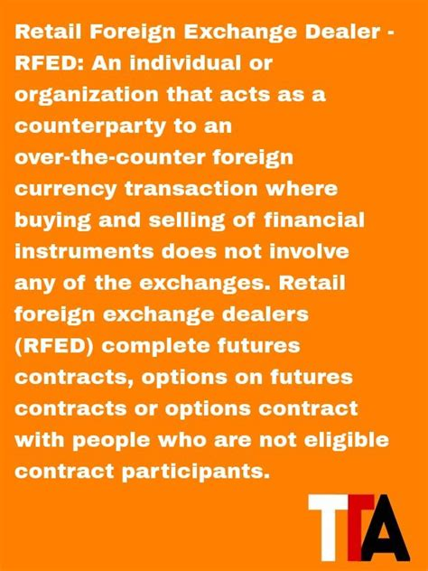 foreign currency trading brokerage the daily definition retail foreign exchange dealer