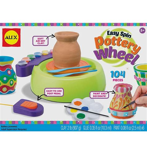 Easy Spin Pottery Wheel Pottery Making Kit Educational