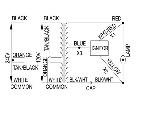 Wiring Diagram For Pulse Start Metal Halide Ballast