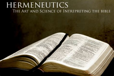 proper bible interpretation hermeneutics thomas taylor