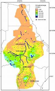 Average Annual Groundwater Recharge Map Of The Nile Basin