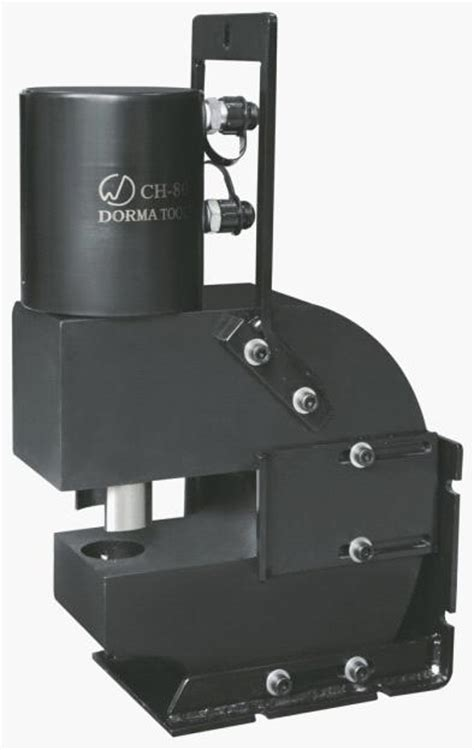 Ch 80 Hydraulic Punch Machine For Punching Hole On Metal