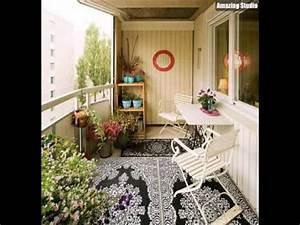 Deko Ideen Balkon : balkon versch nern balkon deko ideen balkongestaltung balkonm bel in wei youtube ~ Frokenaadalensverden.com Haus und Dekorationen