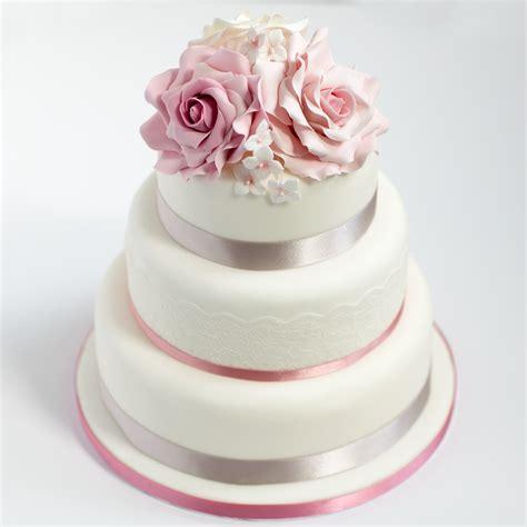 Three Tier Sponge Wedding Cake Baking Mad