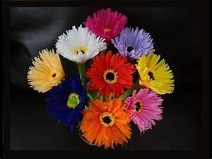 Blumen Aus Seidenpapier : blumen basteln zur fr hlingsdeko basteln ~ Orissabook.com Haus und Dekorationen