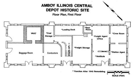floor plans home depot amboy depot museum amboy illinois