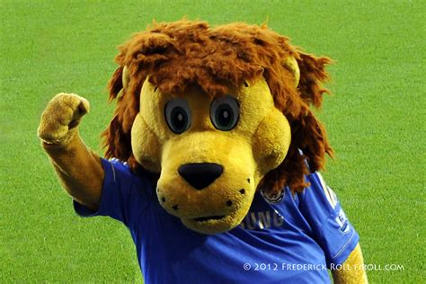 Stamford the lion | The mascot of Chelsea FC _DS52168ax ...