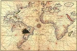 Antique Nautical Map Wallpaper - WallpaperSafari