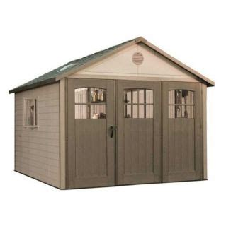 Lifetime Products Gable Storage Shed by Lifetime Products Gable Storage Shed Common 11 Ft X 11 Ft