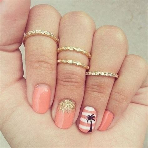 30+ Beach Themed Nail Art Designs  Noted List